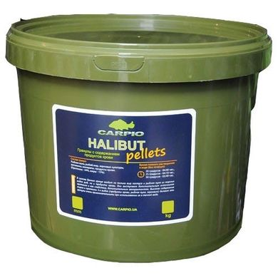 Пеллетс Carpio Halibut Pellets 4.5мм, 7 кг