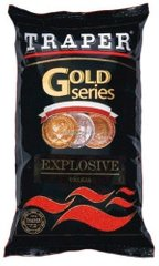 Прикормка Traper Gold Series Explosive Red 1kg