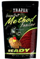 Прикормка Traper Method Feeder Ready Betaina Zielona 0.75kg